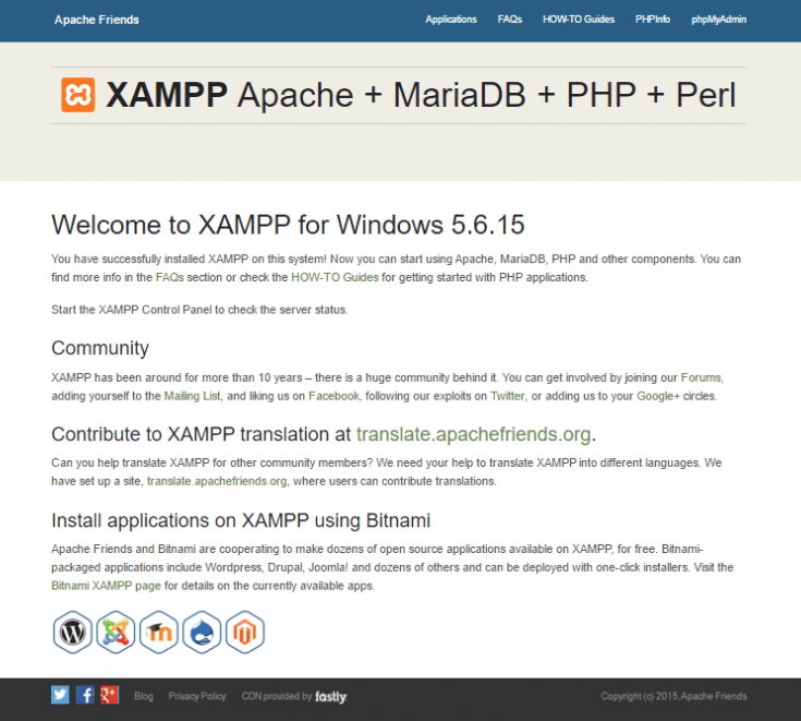 xampp-successful