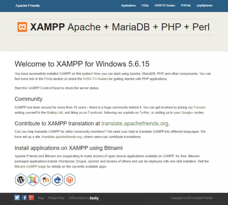 xampp-successful